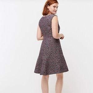 Gray A-Line Sleeveless Dress J. Crew
